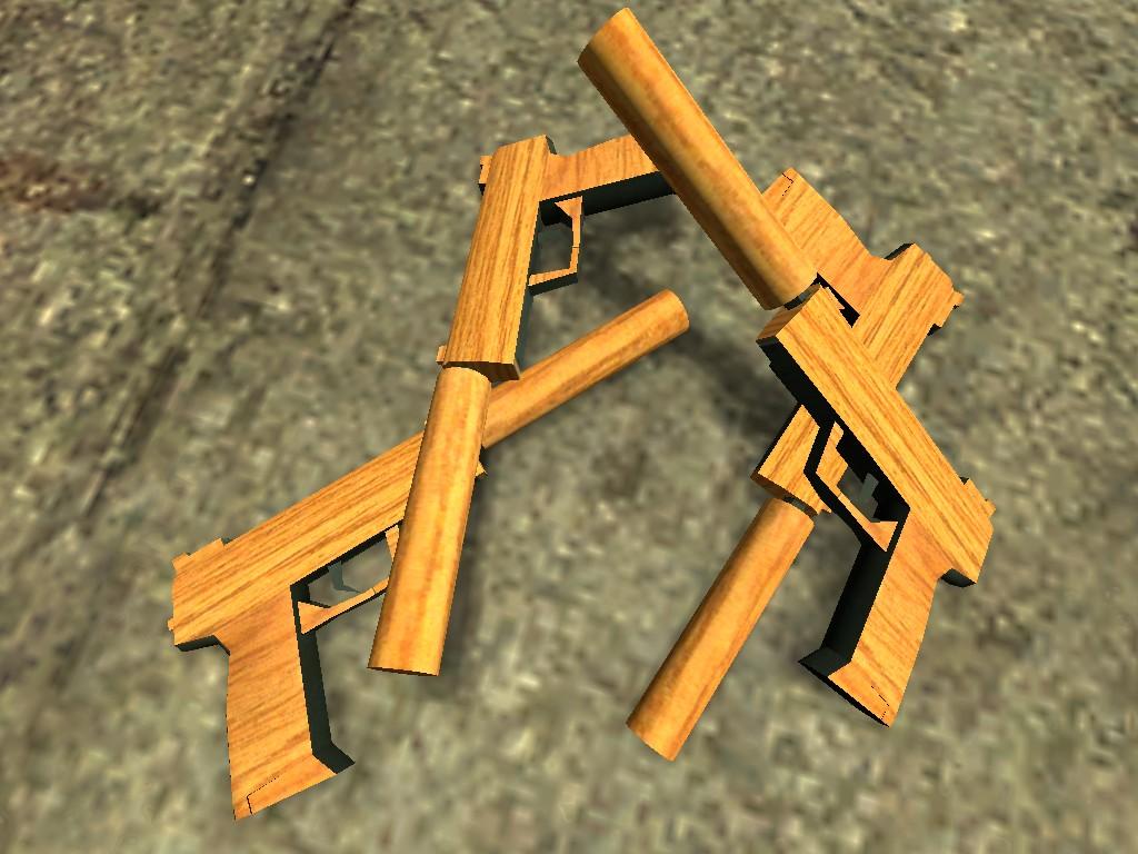 Как делать оружие из дерева